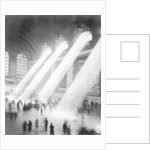 Sunbeams in Grand Central Station by Corbis