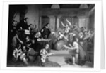 The Trial of George Jacobs, August 5, 1692 by Tompkins H. Matteson