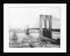 Brooklyn Bridge Over East River and Surrounding Area by Corbis