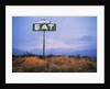 Diner Sign in Mojave Desert by Corbis
