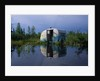 Flooded Trailer near Alaska Highway by Corbis