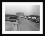 Cars Towing FSA Trailers by Corbis