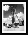 First Atom Bomb test site by Corbis