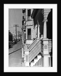 House Fronts in New Bedford by Corbis