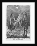 Jumping Bear Promising to Deliver Fanny Kelly's Letter, an Except From My Captivity Among the Sioux by Corbis