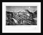 Night Scene at an American Railway Junction by Parson and Atwater