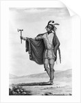 Portrait of Kaskaskia Indian by Corbis