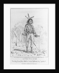 Caricature of Native North American by Corbis