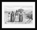 Engraving of Yaqui Indians by Corbis