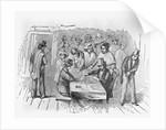 Engraving Gambling in Frisco by Corbis