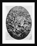 Aerial View of 1860s Boston by Corbis