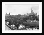 Connecticut State Capitol and Bushnell Park by Corbis