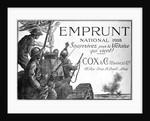 Emprunt National 1918, Souscrivez Pour la Victoire qui Vient! World War I Poster by Chabannaz