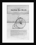 "Advertisement for ""The American Star Bicycle"" by Corbis"