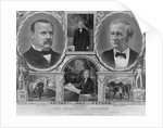 Democratic Presidential and Vice Presidential Nominees of 1884 by Corbis