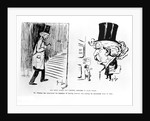 Samuel L. Clemens (two caricatures) by Corbis