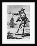 Illustration of Ann Bonney the Pirate by Corbis