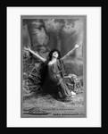Actress Sarah Bernhardt Kneeling by Corbis