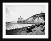 Crowds Enjoy the Beach Below the Cliff House by Corbis