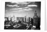Chicago Skyline from Wacker Drive by Corbis