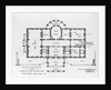 Floor Plan of the White House by Corbis