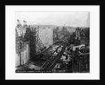 Gatun Upper Lock Under Construction by Corbis