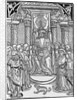 Charles VII Surrounded by His Court by Corbis