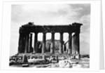 Acropolis, Parthenon, east side, Athens, Greece by Corbis