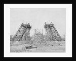 Eiffel Tower During Construction by Corbis