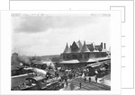 Busy Train Station in Michigan by Corbis