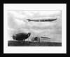 Airships at Lakehurst, New Jersey by Corbis