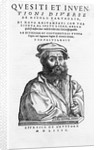 Engraving Frontispiece Portrait of Niccolo Tartaglia by Corbis