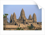 Central Towers of Angkor Wat, Cambodia by Corbis