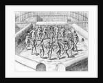 How They Danced with Me Before Their Idols by Theodor de Bry