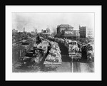Trains Full of Cotton in Texas by Corbis