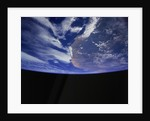 Earth from Space Shuttle by Corbis