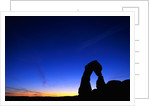 Evening Sky Over Delicate Arch by Corbis