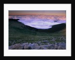 Mountain and Clouds by Corbis