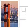 Golden Gate Bridge and San Francisco Skyline by Corbis