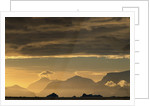 Dark Clouds Above Mountains by Corbis