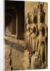 Bas Relief Sculptures at Angkor Wat by Corbis