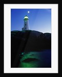 Peggy's Cove Lighthouse at Twilight by Corbis