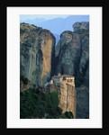 Roussanou Monastery in Greece by Corbis