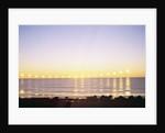 Midnight Sun over Sigurdarstadavik Bay by Corbis