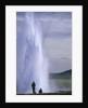 Strokkur Geysir Erupting by Corbis