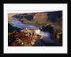 Fjollum River and Hafragilfoss in Iceland by Corbis