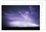 Electrical Storm Above Texas by Corbis