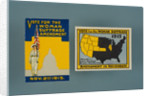 Woman Suffrage Brochure and Stamp by Corbis