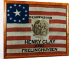 Cotton Flag Banner by Corbis