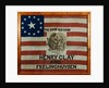 Cotton Flag Banner by Corbis